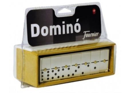 Fournier juego dominó caja de plástico