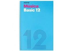 Additio cuaderno música Basic 12