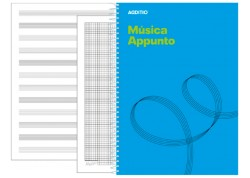 Additio cuaderno música Appunto