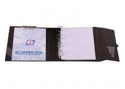 Iberplas carpeta Fº anillas con miniclip superior