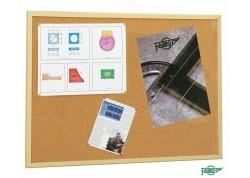 Faibo tablero de corcho marco de pino