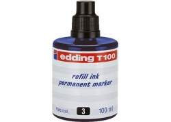 Edding frasco tinta rotulador 100 ml.