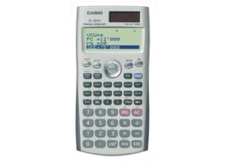 Casio calculadora financiera FC-200 V