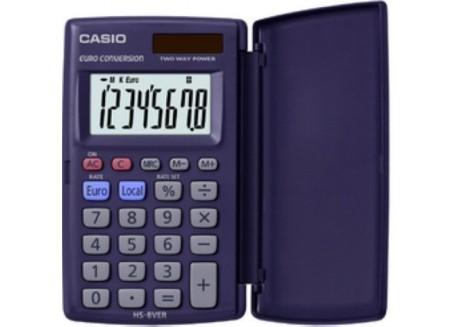 Casio calculadora de bolsillo HS-8 VER con tapa