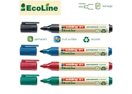 Edding 21 Ecoline marcador permanente