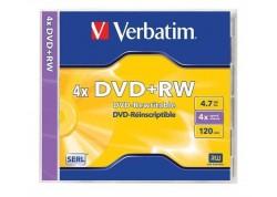 Verbatim DVD + RW regrabable