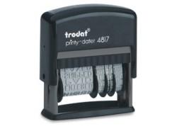 Trodat fechador de entintado automático Printy 4817