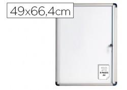 Bi-office vitrina mural de interior magnética