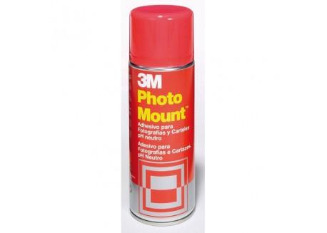 Adhesivo 3M Spray Photo Mount permanente