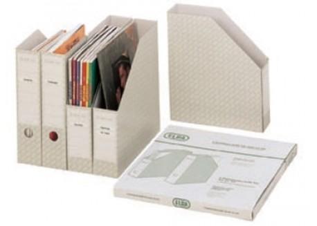 Elba pack de 5 revisteros cartón microcanal