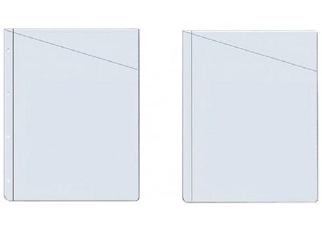 Grafoplas caja 100 fundas portaplanos PVC 100 micras 11 taladros