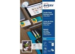 Avery blister 50 tarjetas de visita 260 gr.