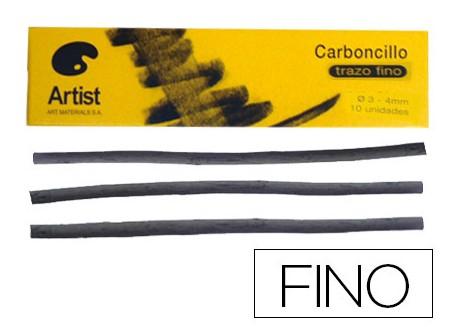 Artist caja barras de carboncillo