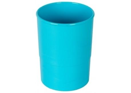 Olef portalápices plástico redondo opaco