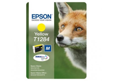 Epson cartucho de tinta T1284 amarillo