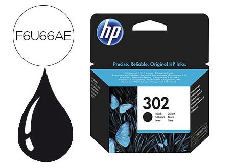 HP cartucho de tinta 302 negro