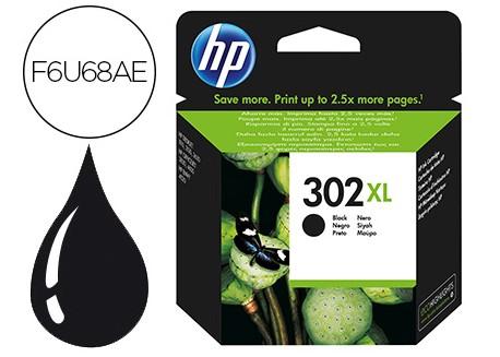 HP cartucho de tinta 302 XL negro