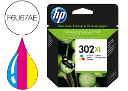 HP cartucho de tinta 302 XL color