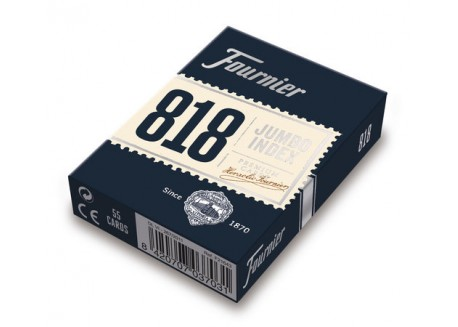 Fournier Baraja poker (55 naipes) Nº 818