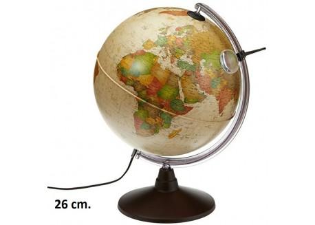 Esfera  Marco Polo con  luz y con lupa