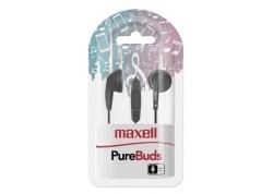 Maxell auriculares de botón negro M668